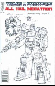 Transformers All Hail Megatron #2 Retail Incentive Variant (2008) IDW Publishing comic book